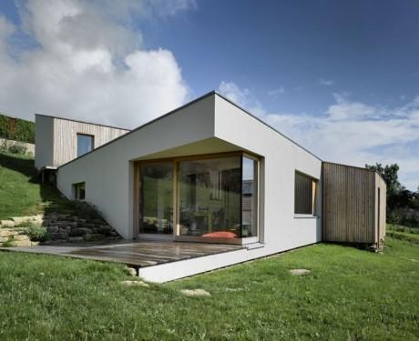 Червячный Дом (Schnecken Haus) во Франции от Atelier d.org.