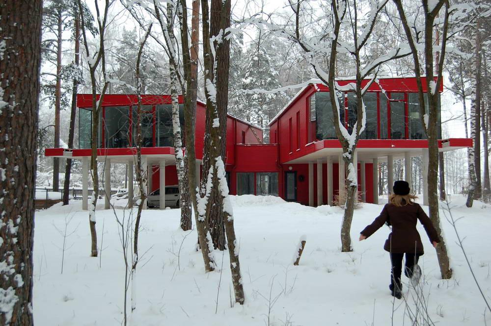 Дом на две семьи в латвии