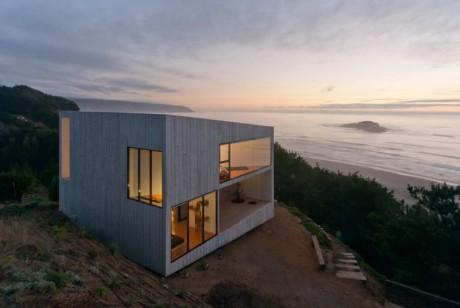 Дом Д (Casa D) в Чили от Panorama и WMR.
