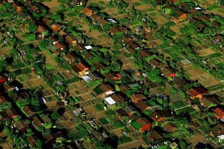Дачный поселок в окрестностях Женевы, Швейцария