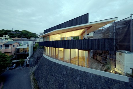 Дом-корабль в Японии