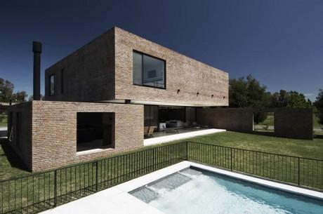 Минималистский дом в Аргентине