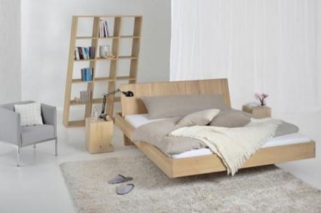 Кровать с газоном