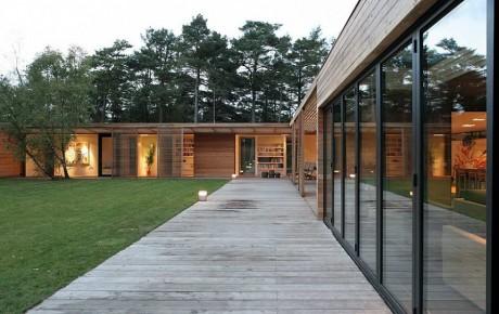 Лесной дом в Швеции