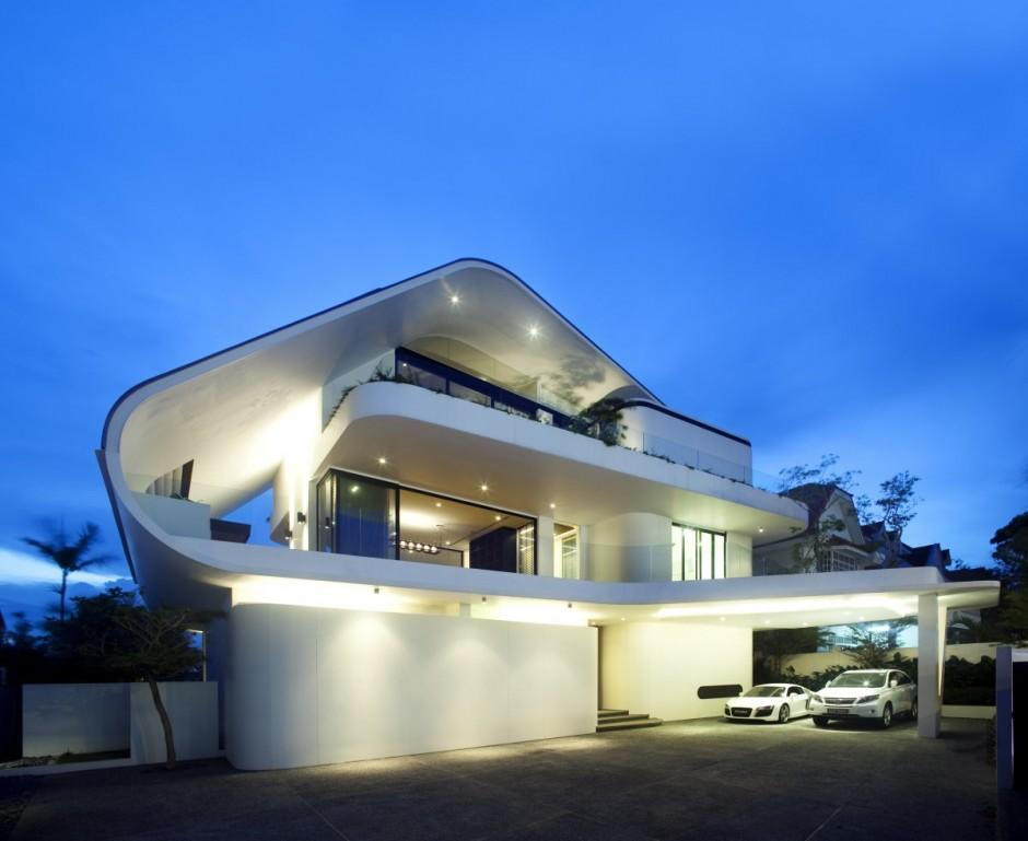 Дизайнерские дома фото