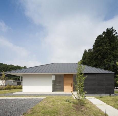 Городской дом в Японии 13
