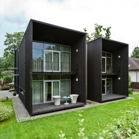 Двойной дом в Латвии