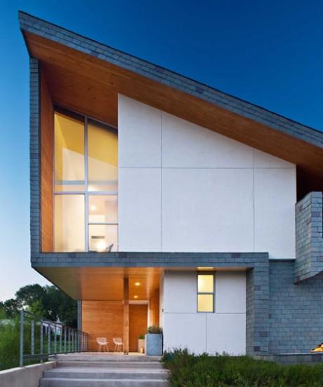 Деревянный дом в США 2
