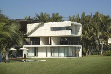Консольный дом в Мексике