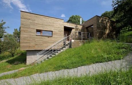 Дом на склоне в Чехии 2