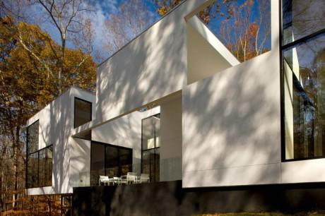 Лесной дом в США 2