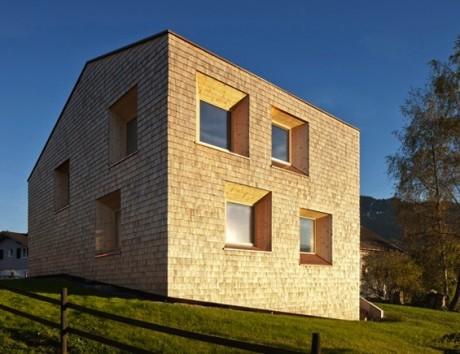 Соломенный дом в Австрии