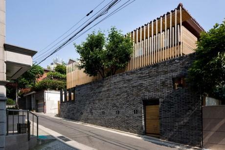 Реконструкция дома в Корее