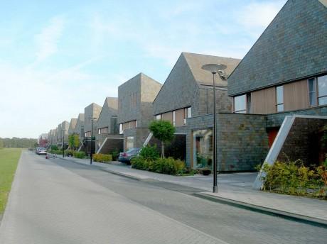 Застройка квартала в Голландии