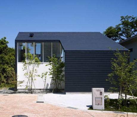 Дом с террасами в Японии