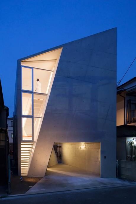 Городской дом в Японии 20