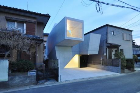 Бетонный дом в Японии 4