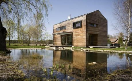 Деревенский дом в Чехии 2