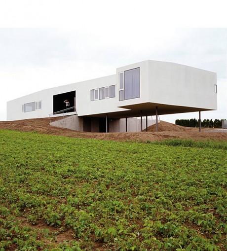 Дом – «космическая станция» в Австрии
