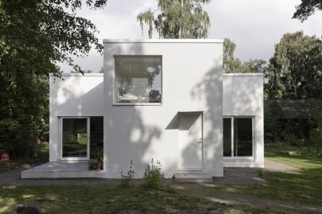 Дом-крест в Швеции