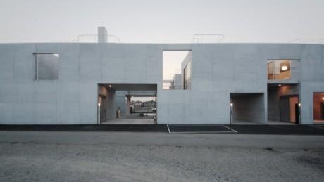 Дом на 8 квартир в Японии
