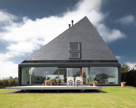 Пирамидальный дом в Бельгии