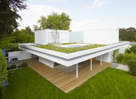 """Реконструкция дома в Германии 2 - Дом """"S"""" (House S) в Германии от Roger Christ."""