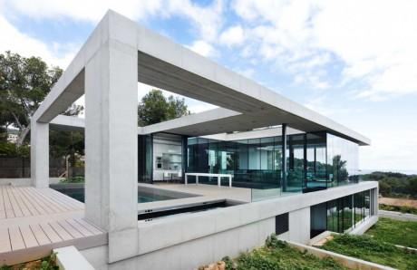 Дом на террасах в Испании