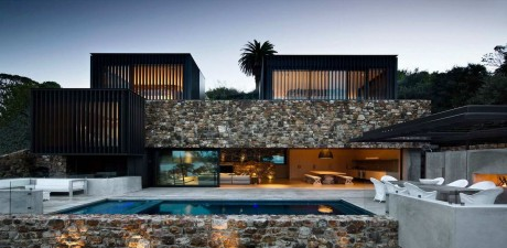 Каменный дом в Новой Зеландии