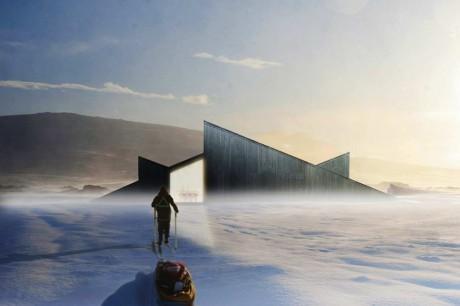 Зимовье в Норвегии