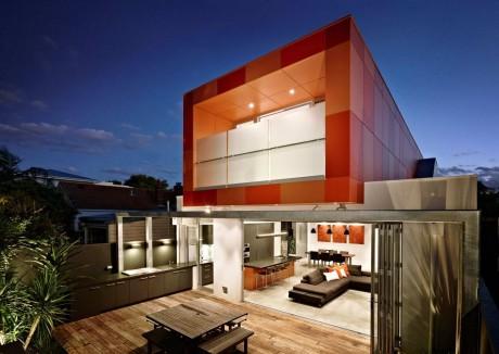 Яркий дом в Австралии