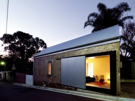 Реконструкция сарая в Австралии