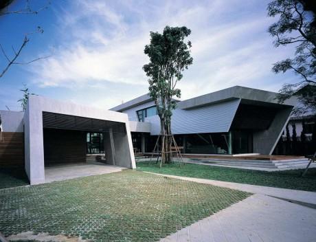 Дом-бункер в Таиланде