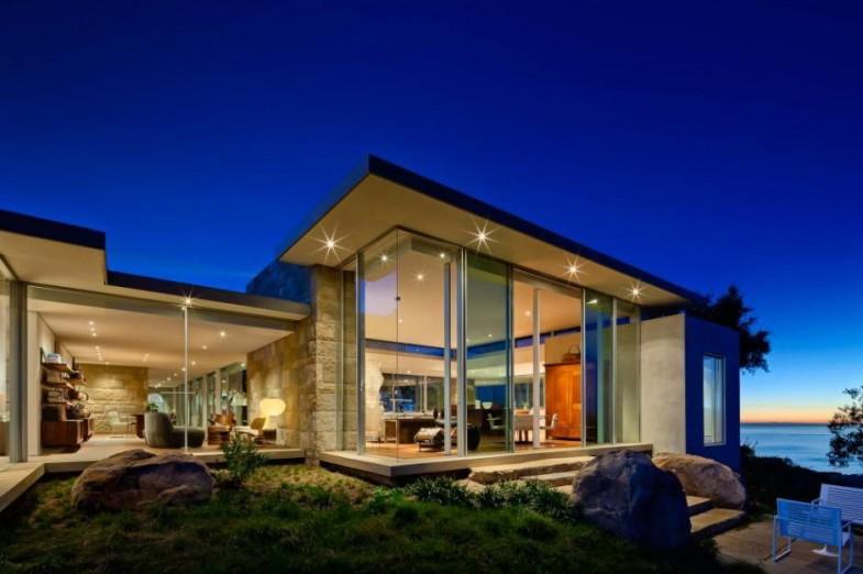 Дом с большими окнами картинки