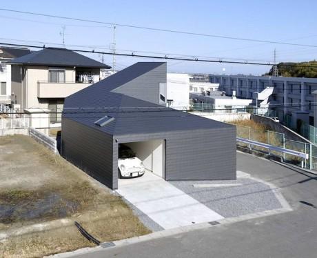 Дом-улитка в Японии