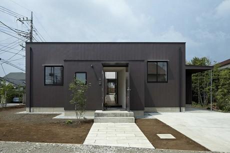 Городской дом в Японии 26