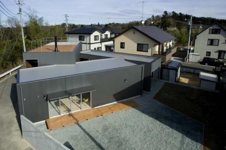 Треугольный дом в Японии 2