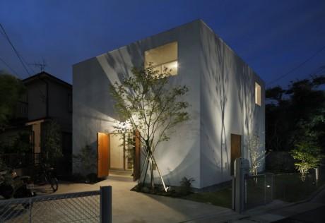 Городской дом в Японии 24