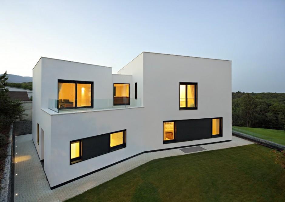 Квадратные дома фото