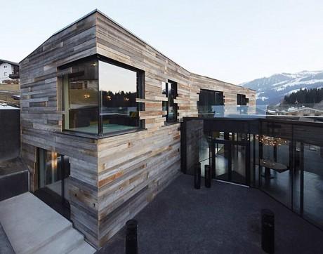 Особняк в австрийских Альпах
