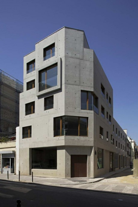 Социальный дом в Париже