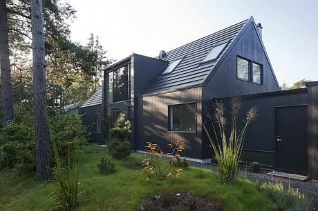 Дом с мезонином в Швеции