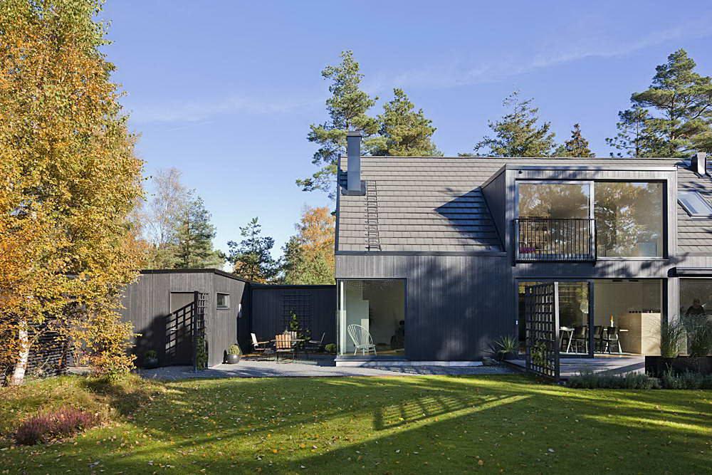 Ландшафтный дизайн в швеции