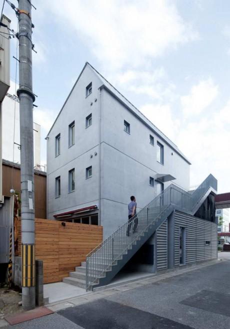 Дом с кафе в Японии