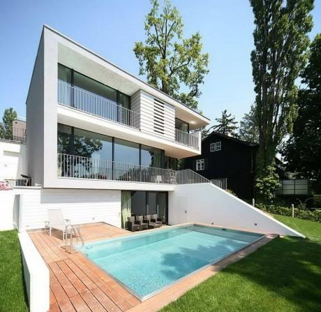 Расширение дома в Австрии