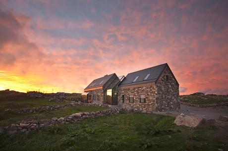 Каменный дом в Ирландии