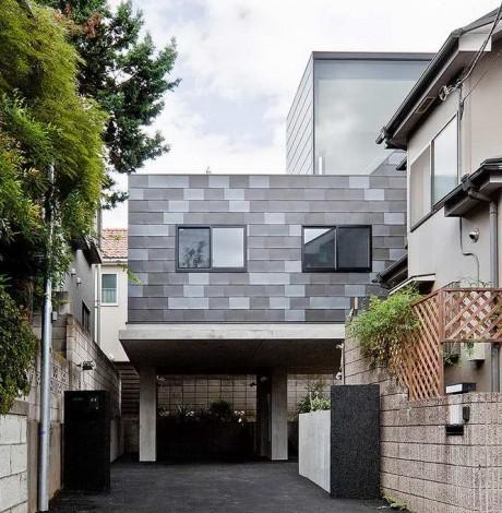Городской дом в Японии 28