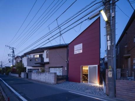 Городской дом в Японии 27