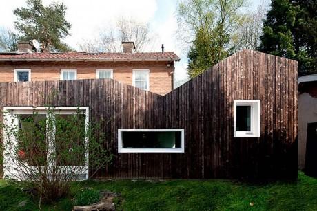 Расширение дома в Голландии