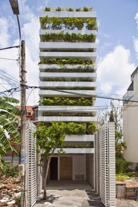 Зелёный дом во Вьетнаме